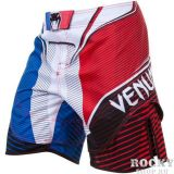 Купить Шорты ММА Venum French Hero Fight Shorts Blue/Red/White (арт. 4721)