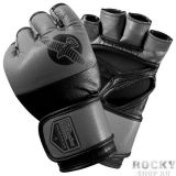 Купить Перчатки ММА Hayabusa Tokushu® Regenesis 4oz MMA Gloves Black / Grey (арт. 4088)