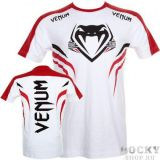 Купить Футболка VENUM SHOCKWAVE 2 T-SHIRT - WHITE/RED Venum (арт. 3537)