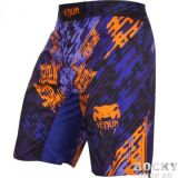Купить Шорты ММА Venum Neo Camo Fightshorts Blue/Orange/Black (арт. 6302)