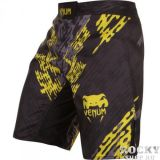 Купить Шорты ММА Venum Neo Camo Fightshorts Black/Grey/Yellow (арт. 6301)