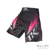 Купить Шорты ММА Contract Killer Stained S2 Shorts - Black/Pink (арт. 3454)