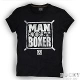 Купить Футболка Man Enough To Be A Boxer / Black UltimatumBoxing (арт. 4533)