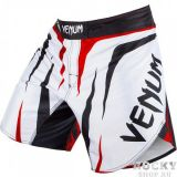 Купить Шорты Fightshort Venum Sharp - White/Black/Red (арт. 3464)