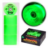 Купить Колеса для лонгборда SUNSET SKATEBOARDS Long Board Wheel With Abec9 SS Green 69 mm, Китай
