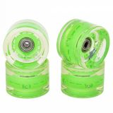 Купить Колеса для лонгборда SUNSET SKATEBOARDS Long Board Wheel With Abec9 SS Green 65 mm, Китай