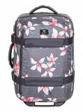 Купить Чемодан ROXY Wheelie 2 J Charcoal Heather Flower Field, Мьянма