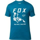Купить Велофутболка Fox Hold Fast SS Premium Tee Maui Blue, 2020