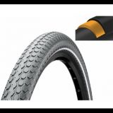 Купить Покрышка велосипедная Continental RIDE Cruiser 26 x 2,0 , 50-559, Reflex, 3/180TPI, Extra Puncture Belt, серая, 101526